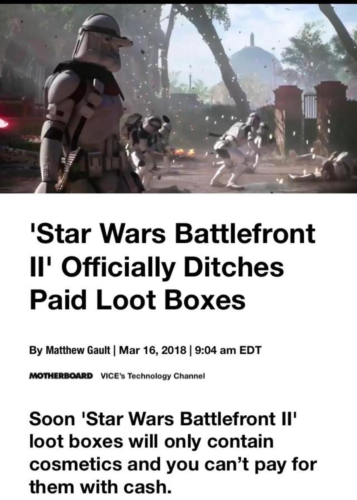 It's not over yet. join list: StarWarsStuff (267 subs)Mention History join list:. stop giving them money.
