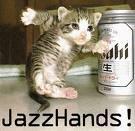 Jazz Hands. .