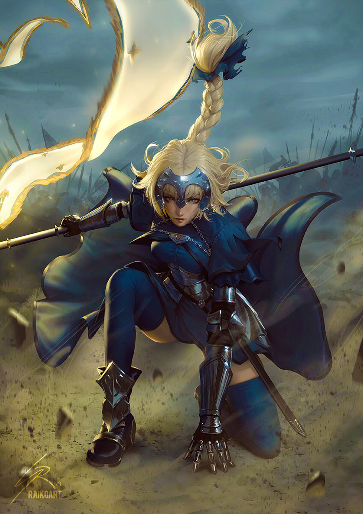 Jeanne D'Arc. .. Joan of Arc is the only French person I'd toast marshmallows with