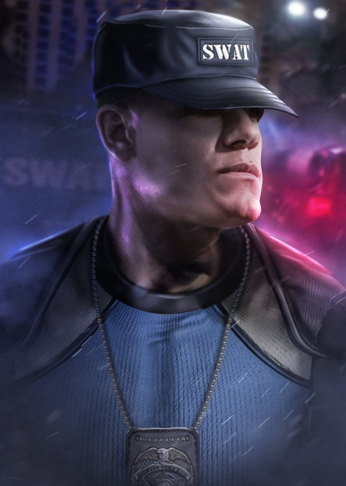 John Cena as Stryker. .. BOOOOO