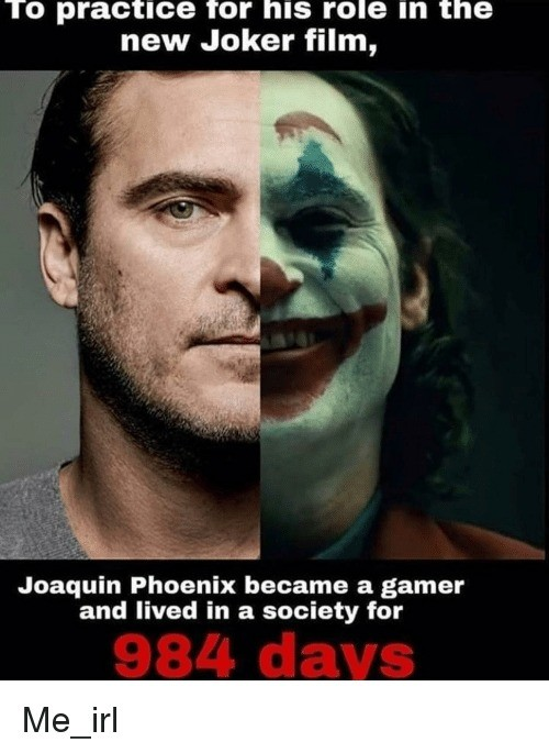 Joker's Society. .. I'm not even mad this is kinda funny
