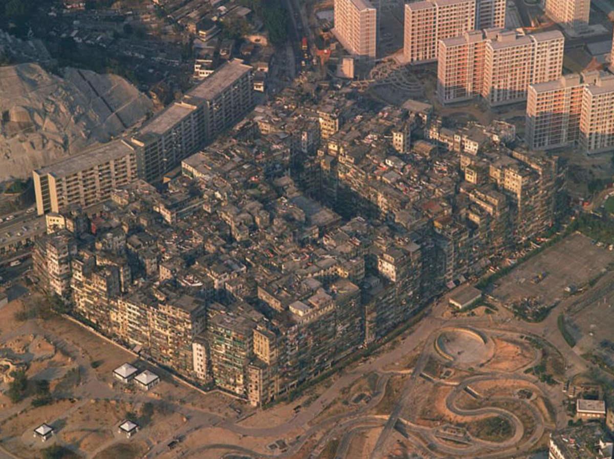 Kowloon Walled City (Hong Kong, China). .. We going in.