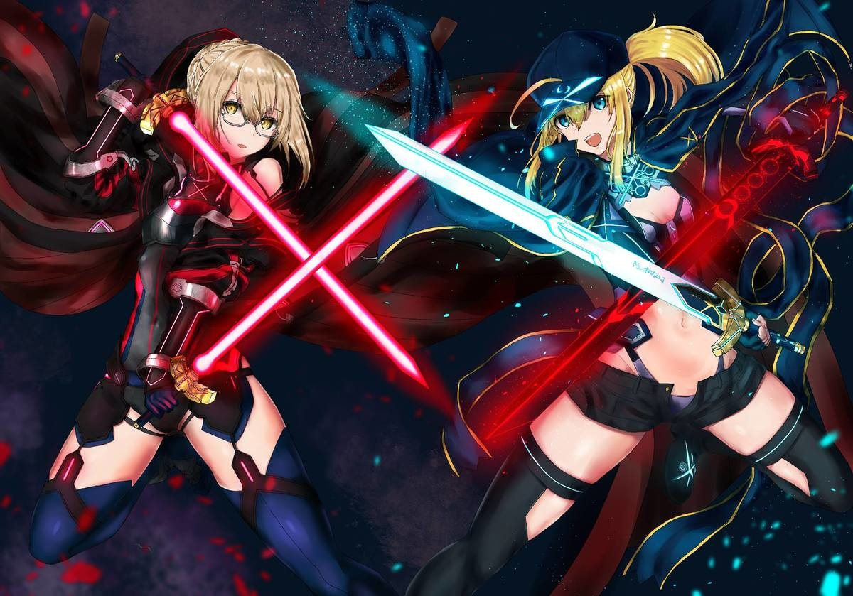 """Light or Dark Side?. join list: SmolHol (1464 subs)Mention History join list:. Fun bit of trivia, the Alter, who's the berserker in-game, is the more sane one. As in, she's not as genocidal as MHX, and is described as """"Bookish and qui"""