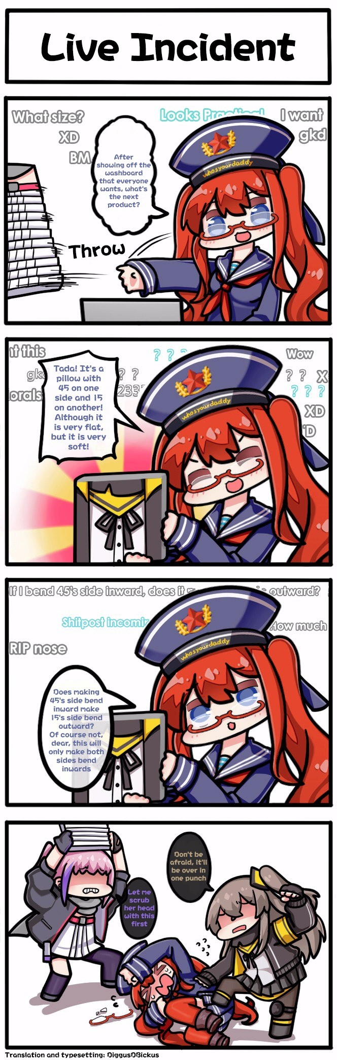 Live Incident. liveincident/ join list: GirlsFrontline (461 subs)Mention Clicks: 60279Msgs Sent: 194324Mention History.. A troubling (yet one dimensional) issue.
