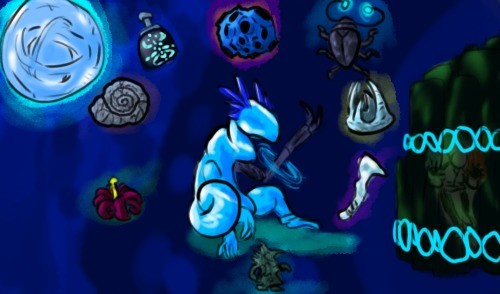 Lunatic. .. >Using all of the Blue items Oh what are you doing