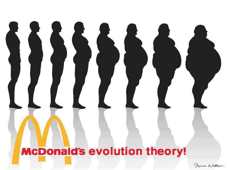 McEvolution. Do you want fries with that?.. you turn into a boomer?