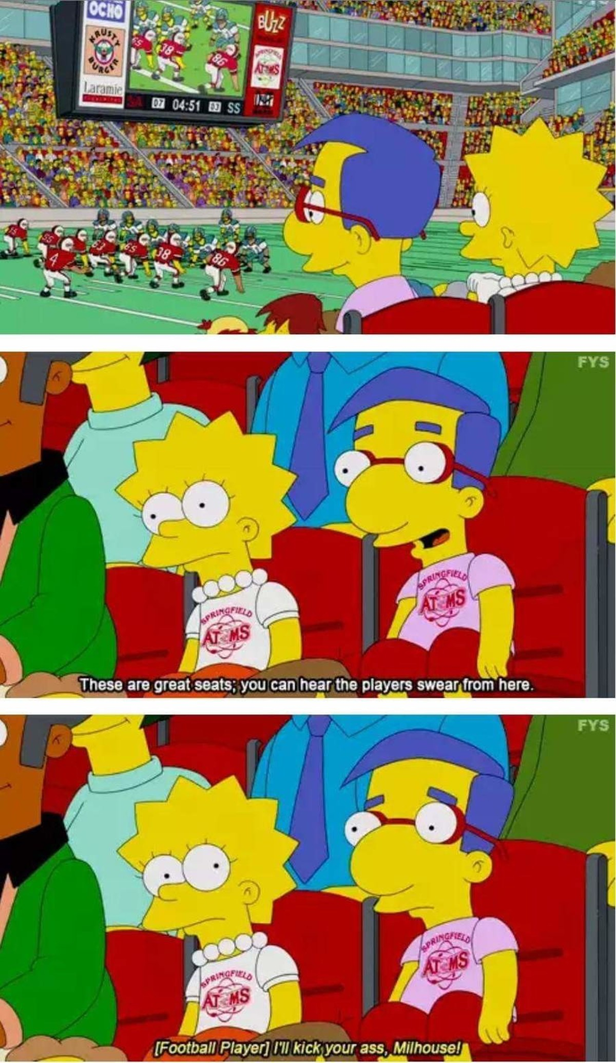 Milhoose. .. Milhoose is the Canadian Milhouse you nonce.