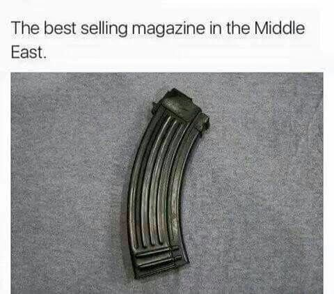 miscreant motionless Mule. .. you uh you don't need that many magazines you need bullets