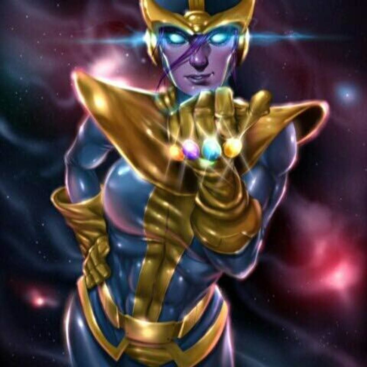 Mommy Thanos?. join list: FitnessFappers (1659 subs)Mention History join list:. A reminder that Thanos used the gauntlet to make a female version of himself to make Death jealous.
