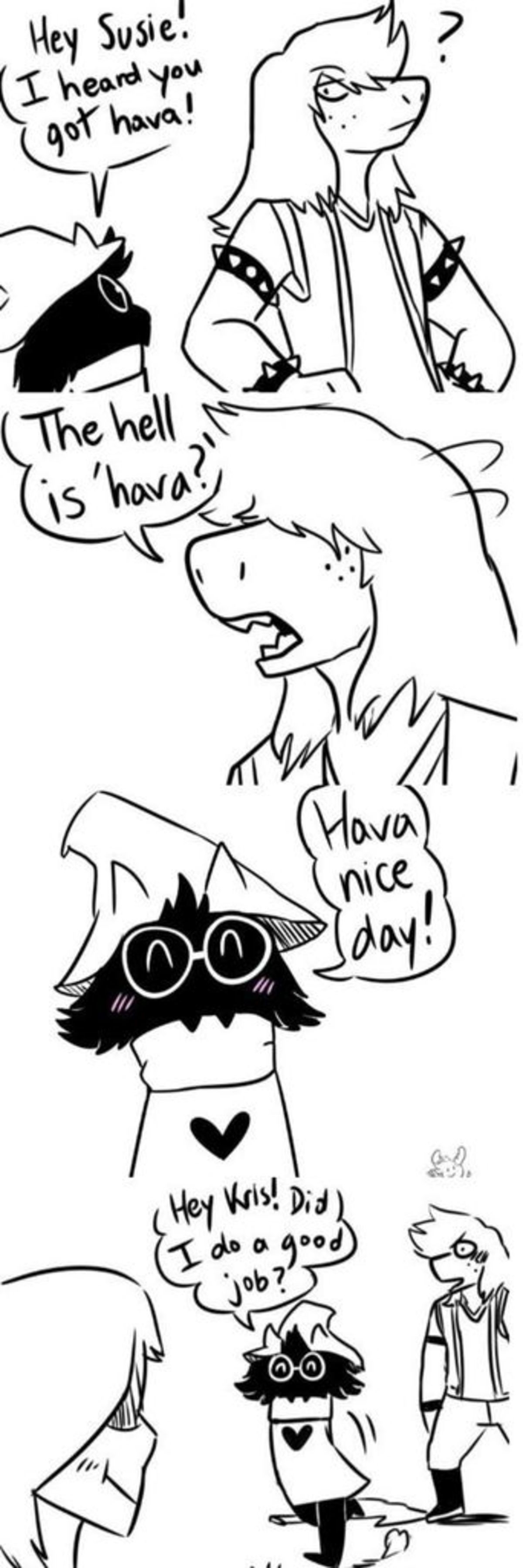 Must protect. .. >When Ralsei needs to be serious