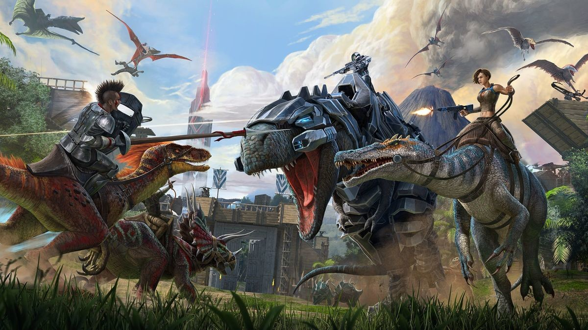 My Fave Sandboxes. #4: Ark Survival Evolved Ark is great, but it has one huge problem: It takes way too much time and friends to properly enjoy. It takes hundre
