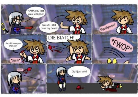 My Heart. Sora fails, just by a lot... the kind of name is surprisebuttseck? WTF IS A SECK?