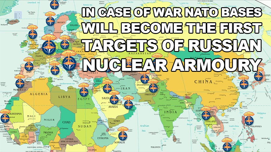 NATO bases will become the first targets. .. Russia will never use the nukes. The US will never use the nukes. MAD is still a thing. If there is a war, it is going to be very small scale because Russia and