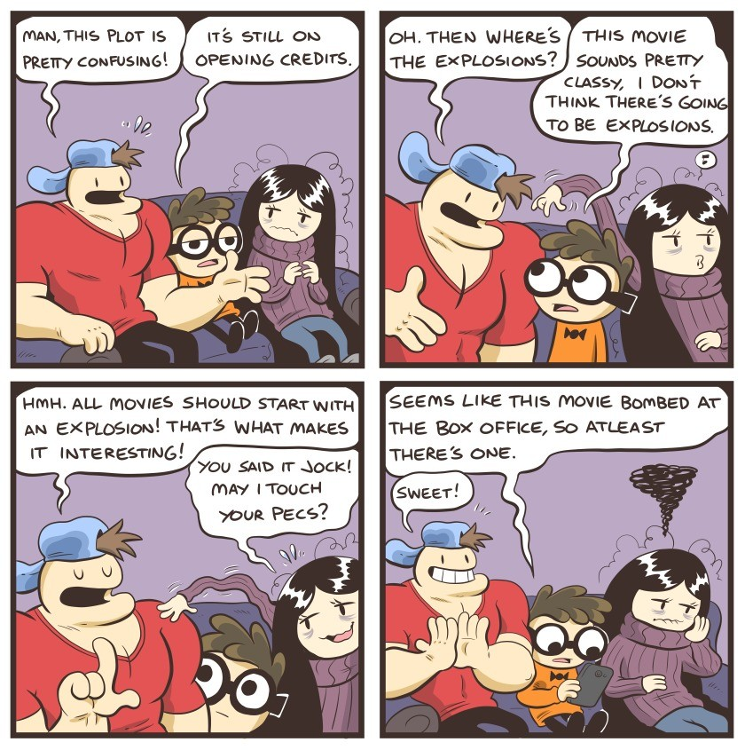 Nerd and Jock 55. .. Nothing unusual there. I bet we all have a bedroom shrine dedicated to our local Chads.