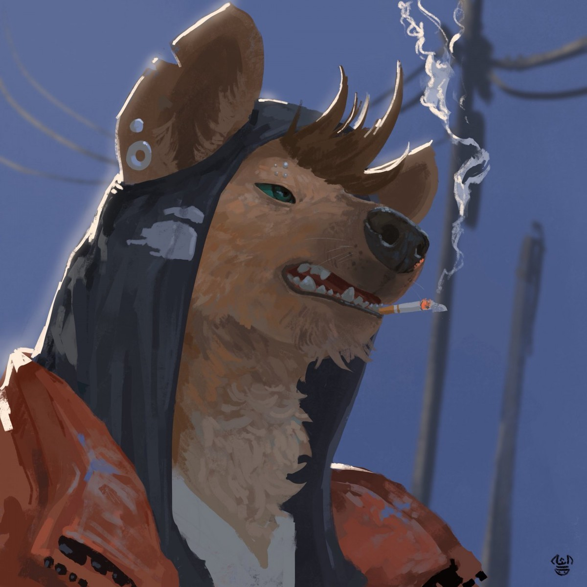NeungSoNie . Edition 131 of Furry Art You Could Show Your Friends. Today's featured artist is Jae Pil Lee, aka NeungSoNie, a Korean painter. He