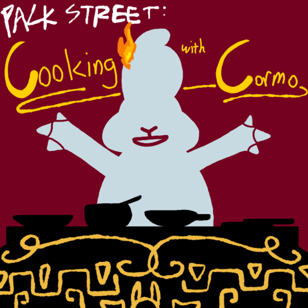 New Packstreet: Cooking With Cormo. Link to story: http://archiveofourown.org/works/12141837/chapters/31489065 Bring to a boil, let stew, serve hot... since when is gideon gleeful a furry?