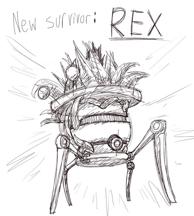 NEW SURVIVOR. AND HE'S A GOOD BOI Rex here, will be the newest addition to the RoR2 survivor team with a ton of new and interesting abilities. When made availab