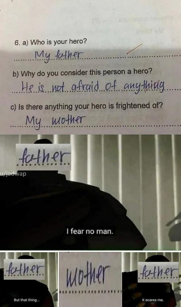 no man. .. >finding women scary