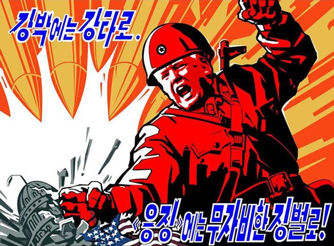 North Korean Marvel presents. .