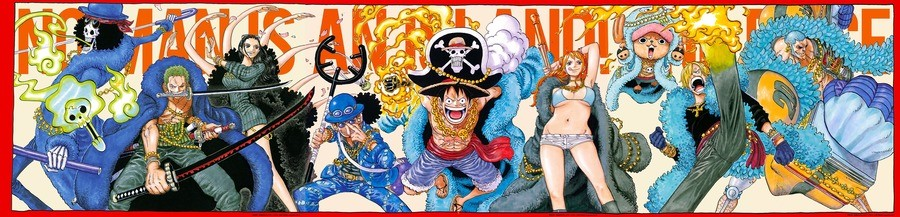 One Piece Anniversary Cover. .. It seems like every time I see One Piece art, they got Nami in less clothes. But Robin is still best girl.