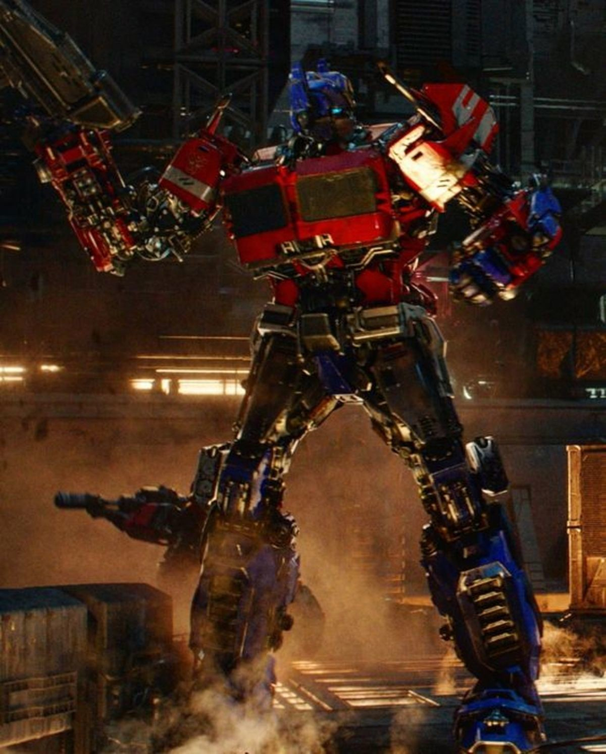 Optimus Prime. .. Wait, is the new Bumblebee movie set in a new timeline?