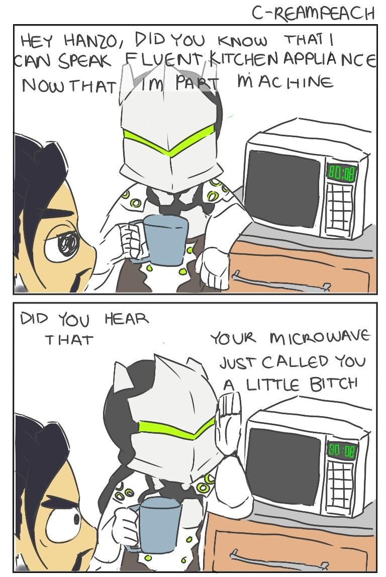 Image of: Halloween Funny Junk Overwatch Comics