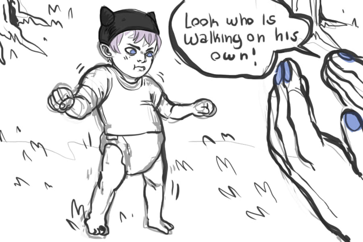 Parenting in dbz in a nutshell. source is oonaluna-art on tumblr.. I cant hear vegeta in his official dub voice anymore only the Team Four Star Version