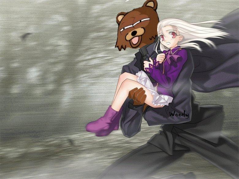 Pedobear got Illya!. .