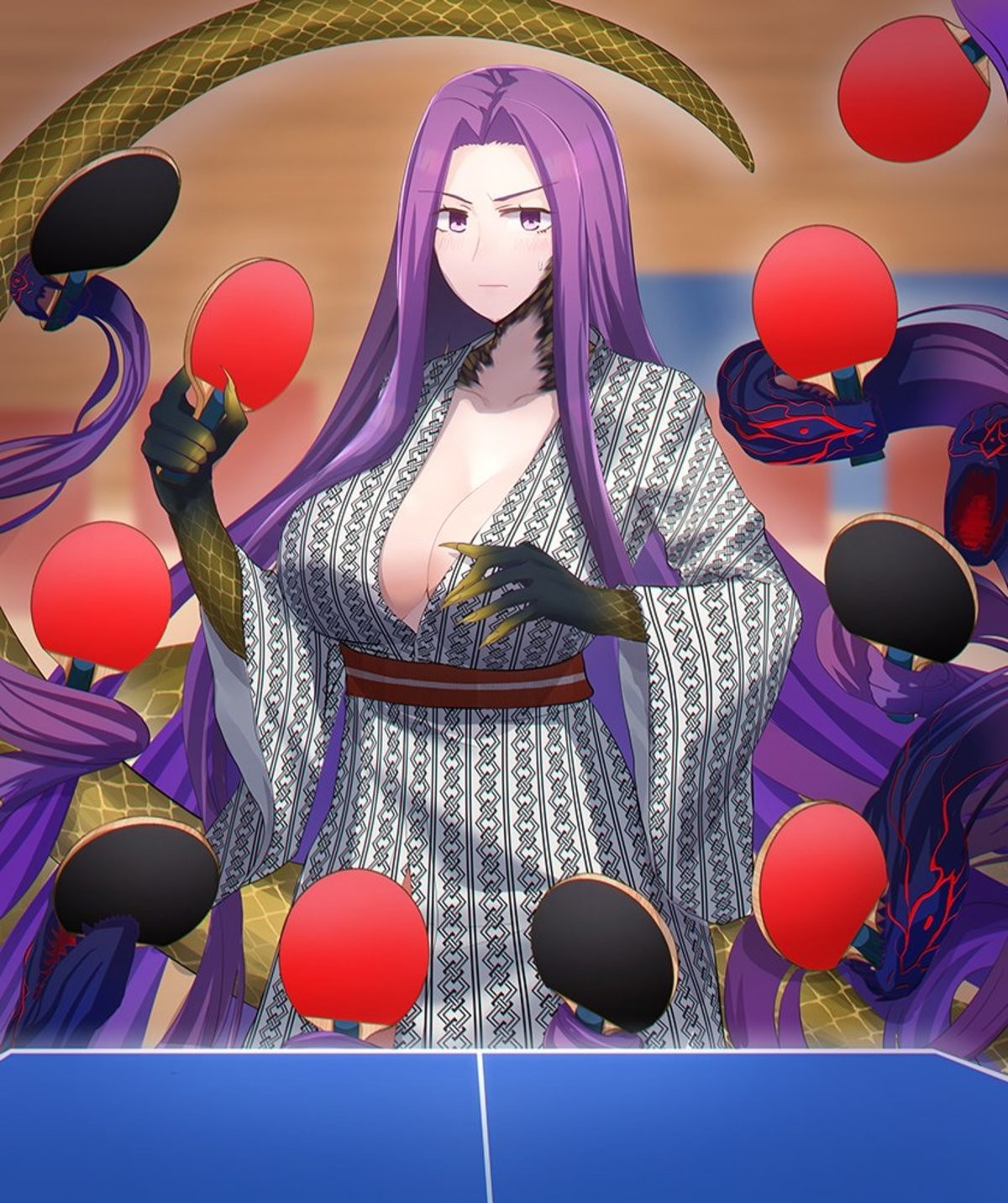 Ping Pong Final Boss. join list: MedusaHair (242 subs)Mention History join list:. I am the ping of my pong Forehand is my body and backhand is my blood I have created over a thousand paddles Unknown to edges, Nor known to sides. Have withstoo