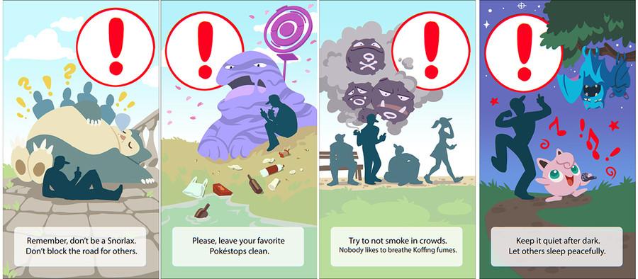 pokemon go warnings rh funnyjunk com