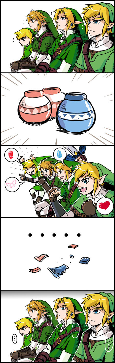 Pots. About sums up every LoZ game.