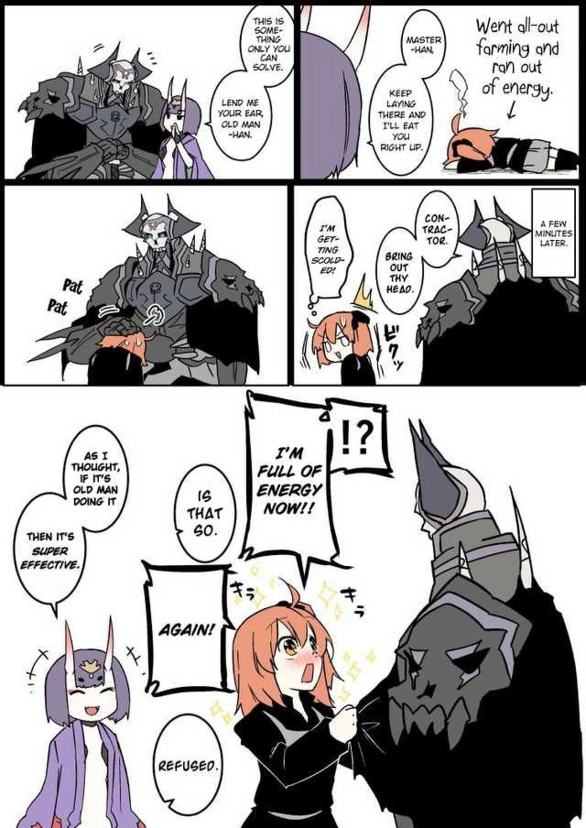 Power of Headpats. join list: WeLoveGramps (784 subs)Mention History.. Judasmercy get the in here and drop the list