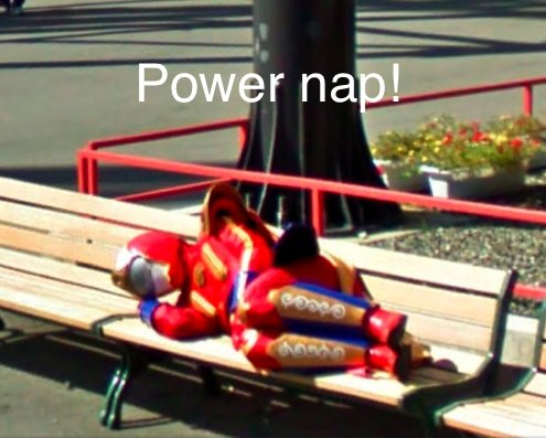 Power NAP!. This is the real .. Fake and gay!