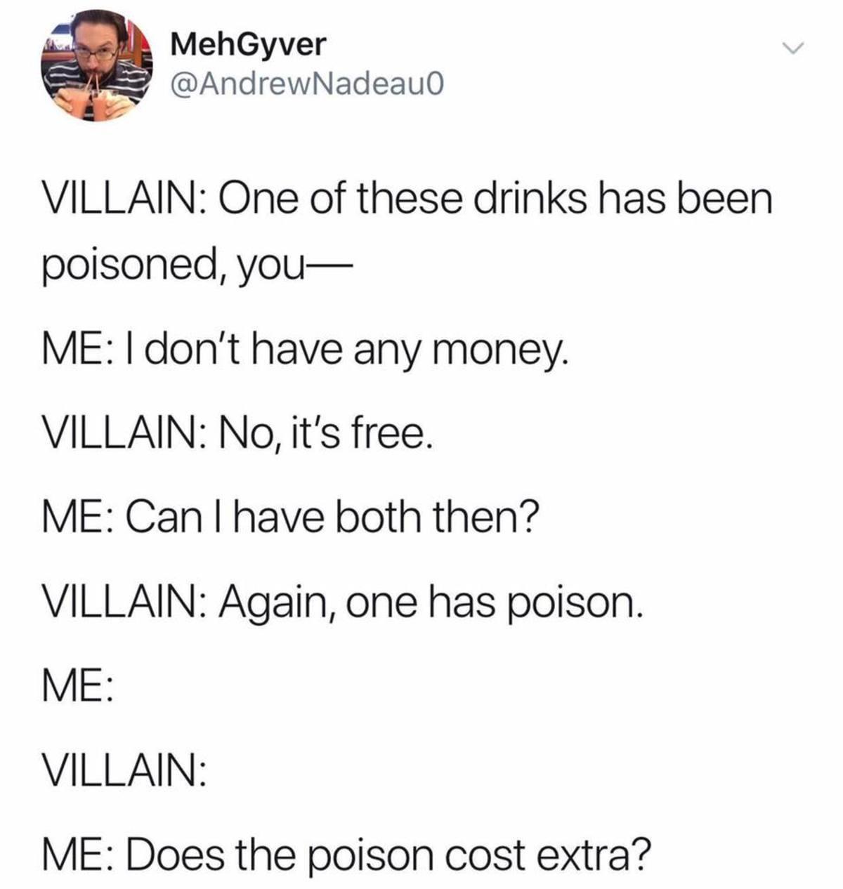 POY SON. .. DO YOU DO POISON