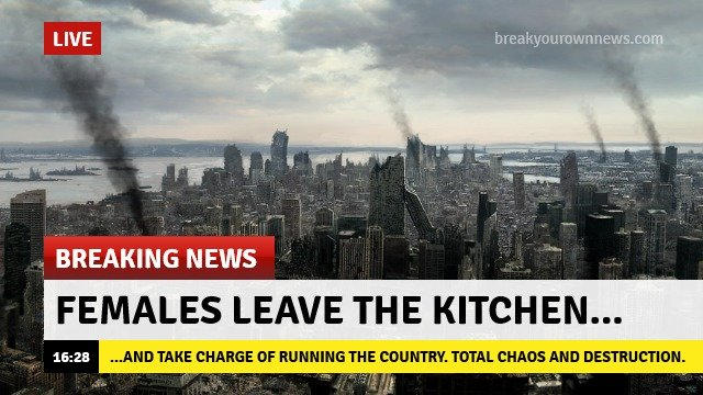 quality content. . FEMALES LEAVE THE KITCHEN... AHD THEE CHARGE BF RUNNING THE WEEK TOTAL CHADS MID DEED .