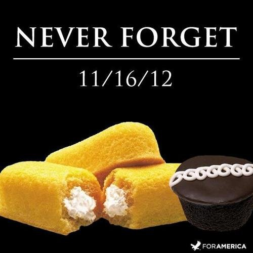 Rest in Peace, Hostess. . FORGET. never forget