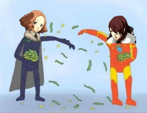 Rich bitches. Who is more loaded? Fluffy haired sadistic food heiress by day, walking guillotine by night Red head corporate princess fencer turned paranormal s