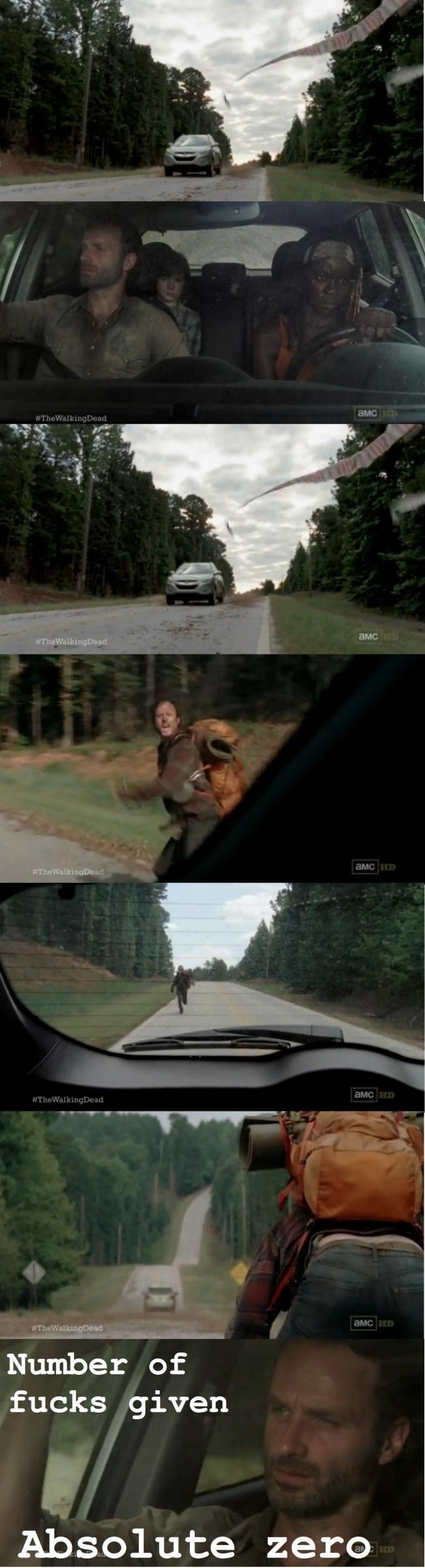 Rick you little rascal... OC brah.. With those three in the car the number of is in the negative.