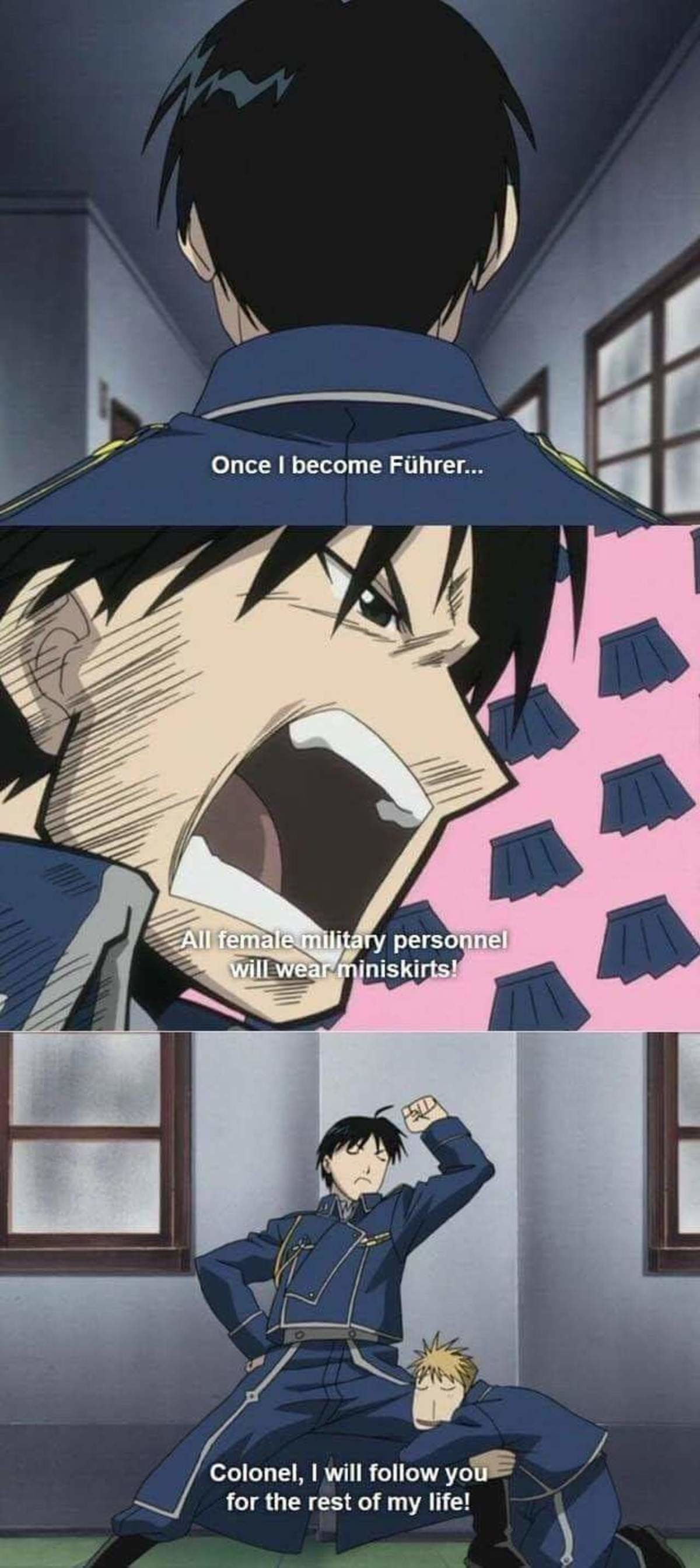 Roy mustang. .. it's even better with sound