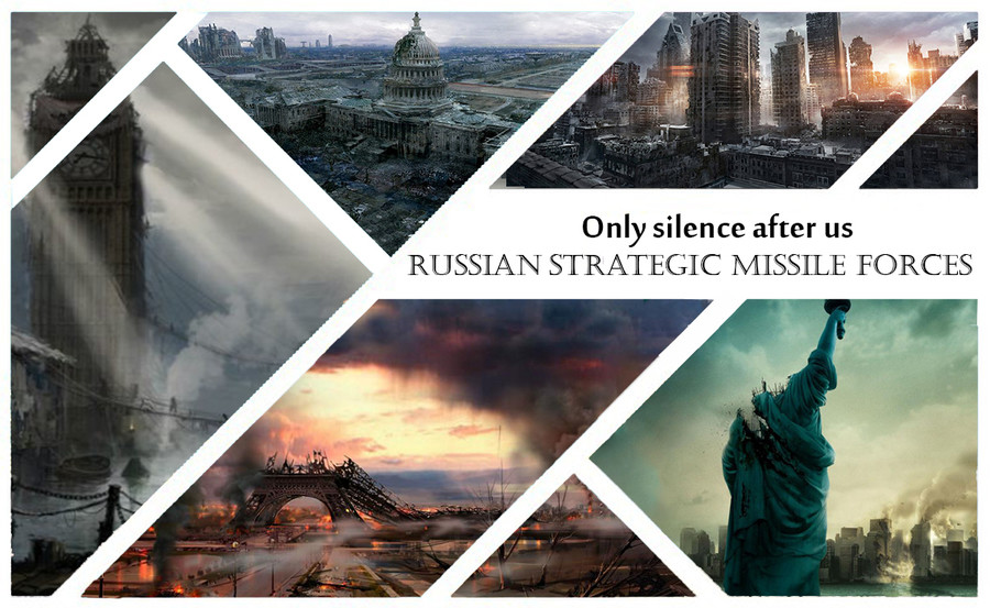 """Russian Strategic Missile Forces. . Only silence after us Ppl STRATEGIC ' FORCES. I watched, """"World War Three: Inside The War Room"""" last night. I don't need this extra stress right now. You Americunts better vote Trump, because I do"""