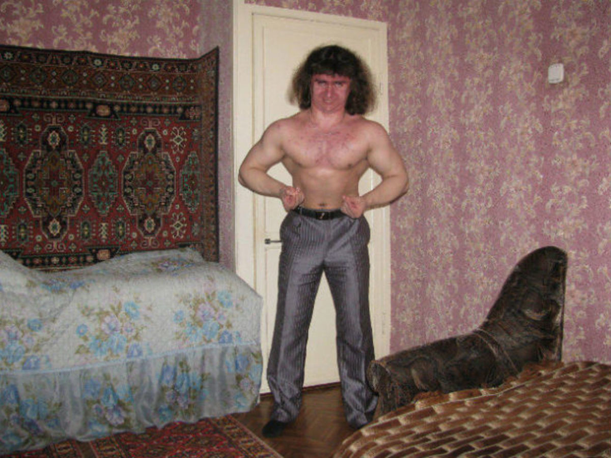 Russian Weirdness. .. Why does every picture from Russia just have a slightly cursed vibe to it?