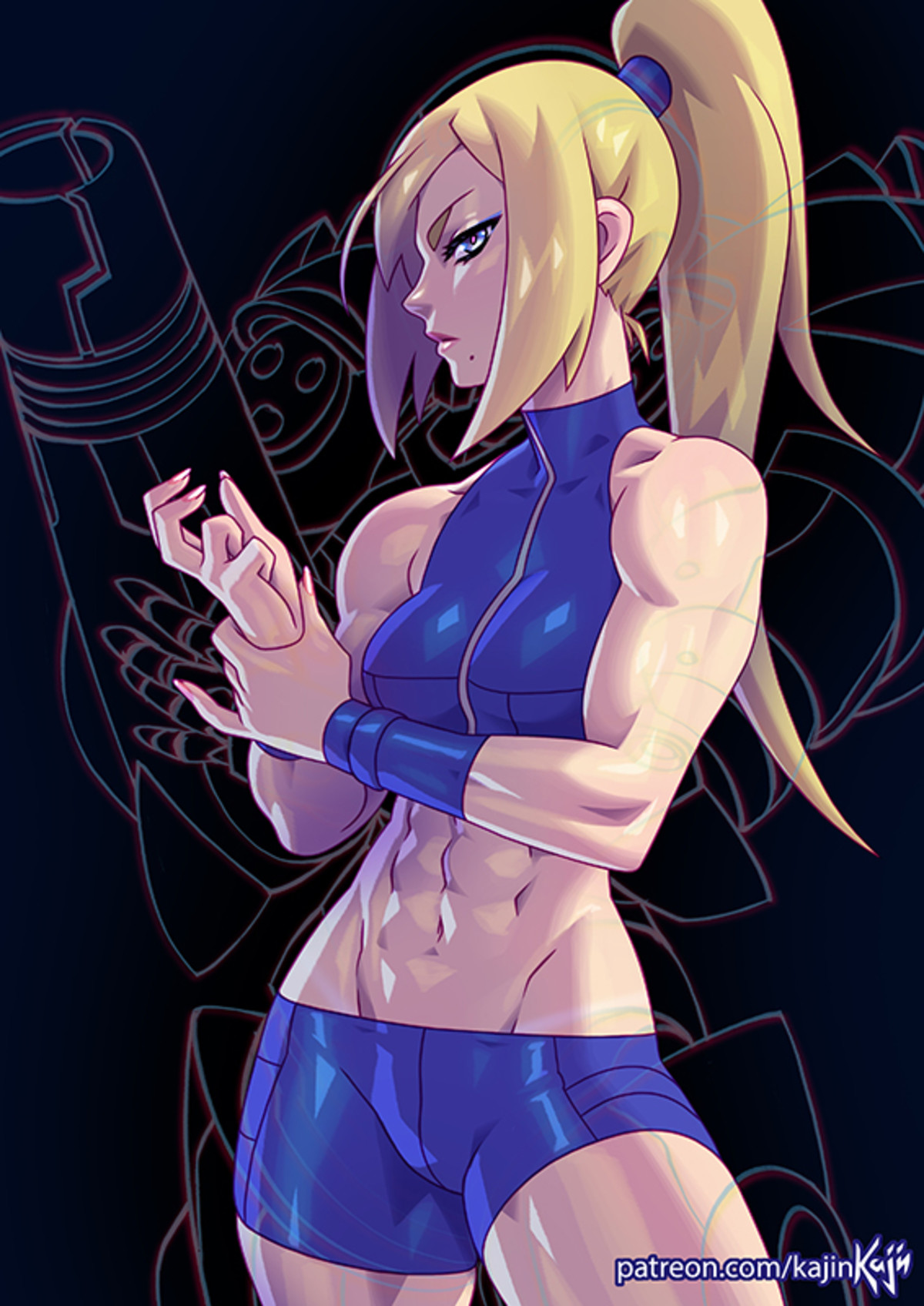 Samus. .. i just want her to end me
