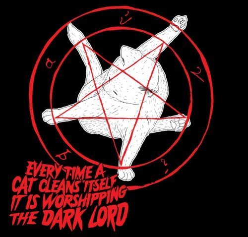 satan cat. .. Why? Is the Darklord an asshole?