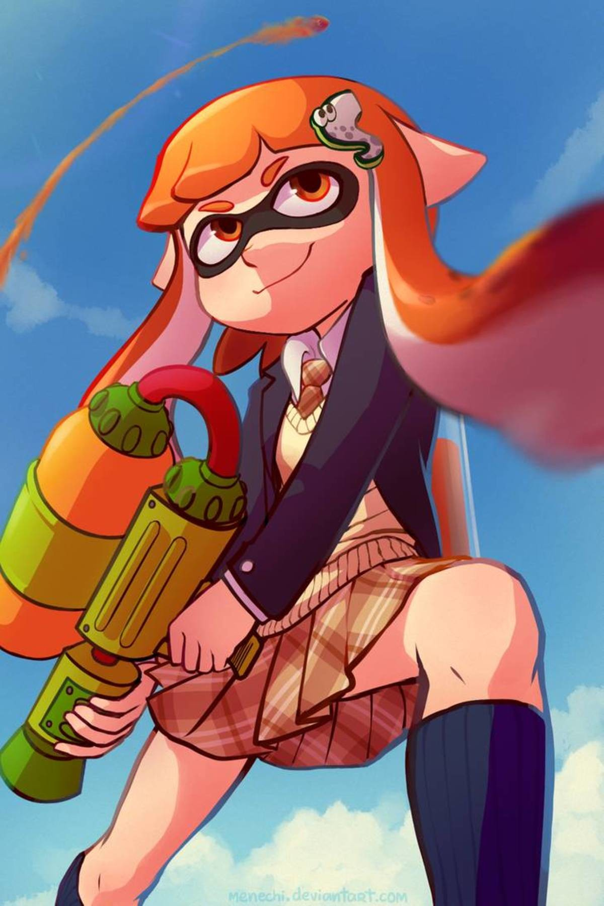 School Inkling. .. If only she had an inkling of what's in store for her after school... Then she could probably study better