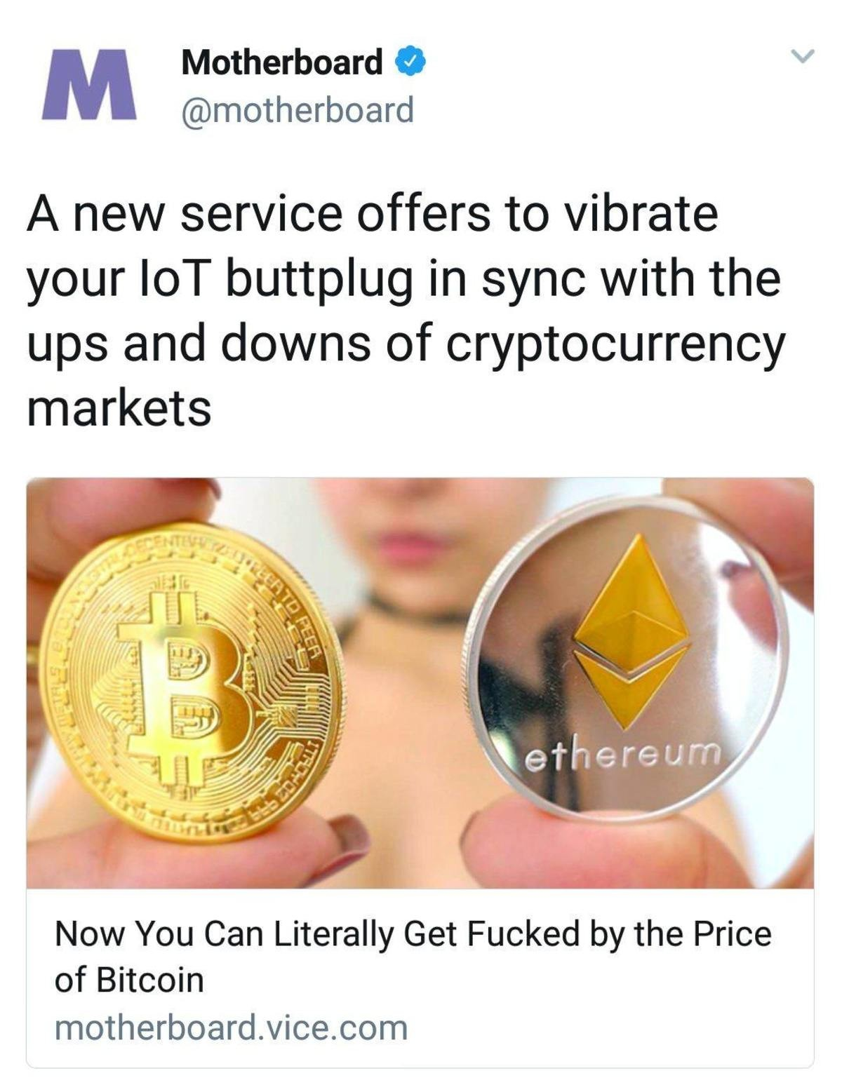 "Screwed By Bitcoin. .. When he ""Dumps eit""."