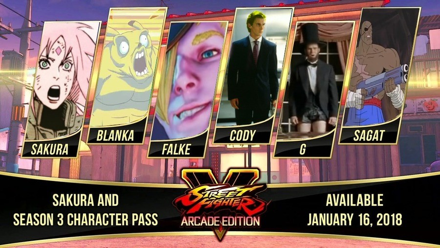 Season 3 of SFV is looking great!. join list: QuarterCirclePunch (4 subs)Mention History. SEASON 3 CHARACTER PASS. Still no spunky tomboy martial artist, my disappointment only continues to grow.