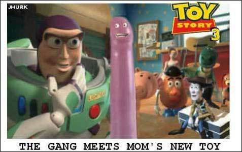 Sex toy story?. Trailer for toy story 3 .. hey andy's mom needs to have fun too!