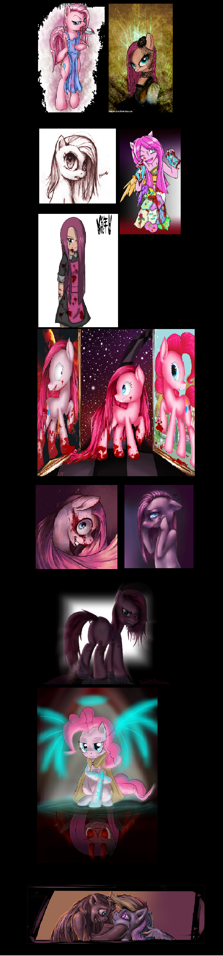 Short Pinkamina Diane Pie Comp.. only my second comp. I got fairly good reviews on my last one soooo..... i made this. hope you liked it.. Did someone call?