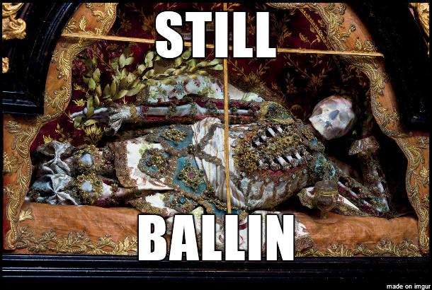 Skeleton king. . made an imgur. R.I.P. buddy...