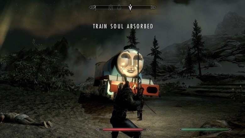 skyrim mods. . TRAIN SOUL. There is nothing to absorb...